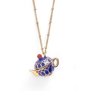 Kate Spade • Tea Time Locket Necklace • Long